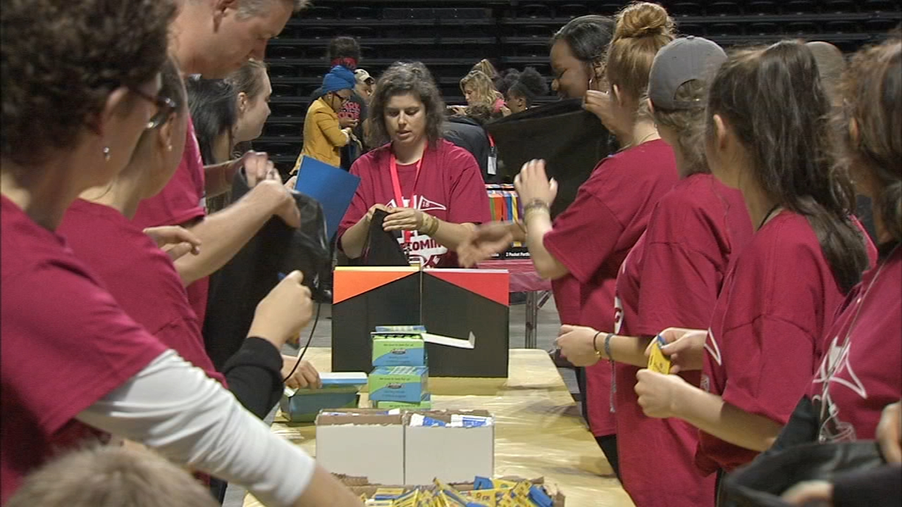 Temple University Students smash Guinness record as reported during Action News at 11 on October 15, 2018.