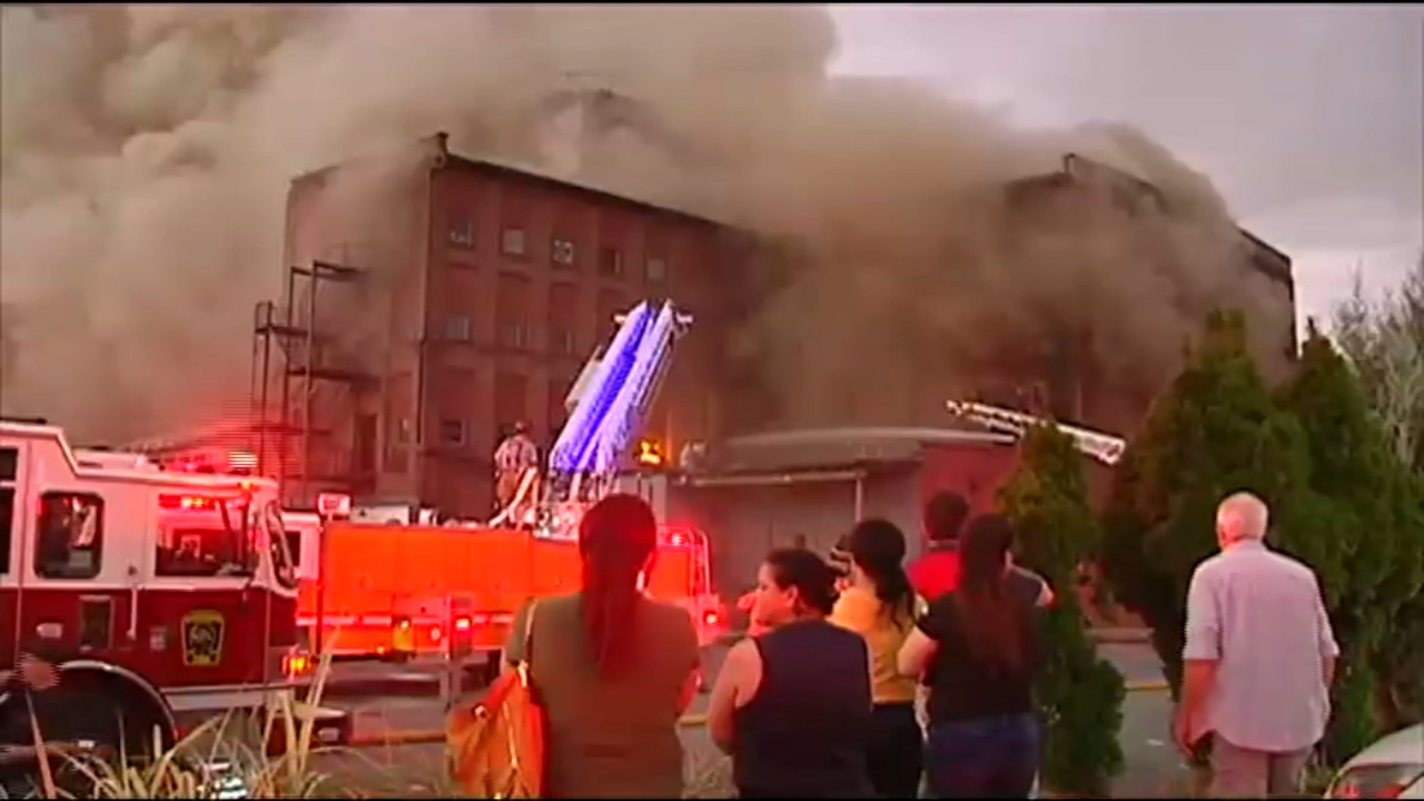 2nd building by same owner catches fire. Matt ODonnell reports during Action News Mornings on October 16, 2018.
