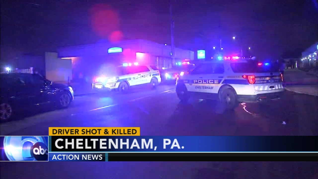 DA: Man shot, killed in Cheltenham after traffic dispute. Watch this report from Action News at Noon on October 16, 2018.