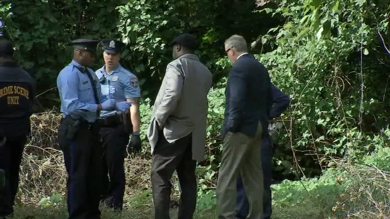 Body of 2-year-old girl found partially buried in park, caregiver questioned. Bob Brooks reports during Action News at 4pm on October 16, 2018.