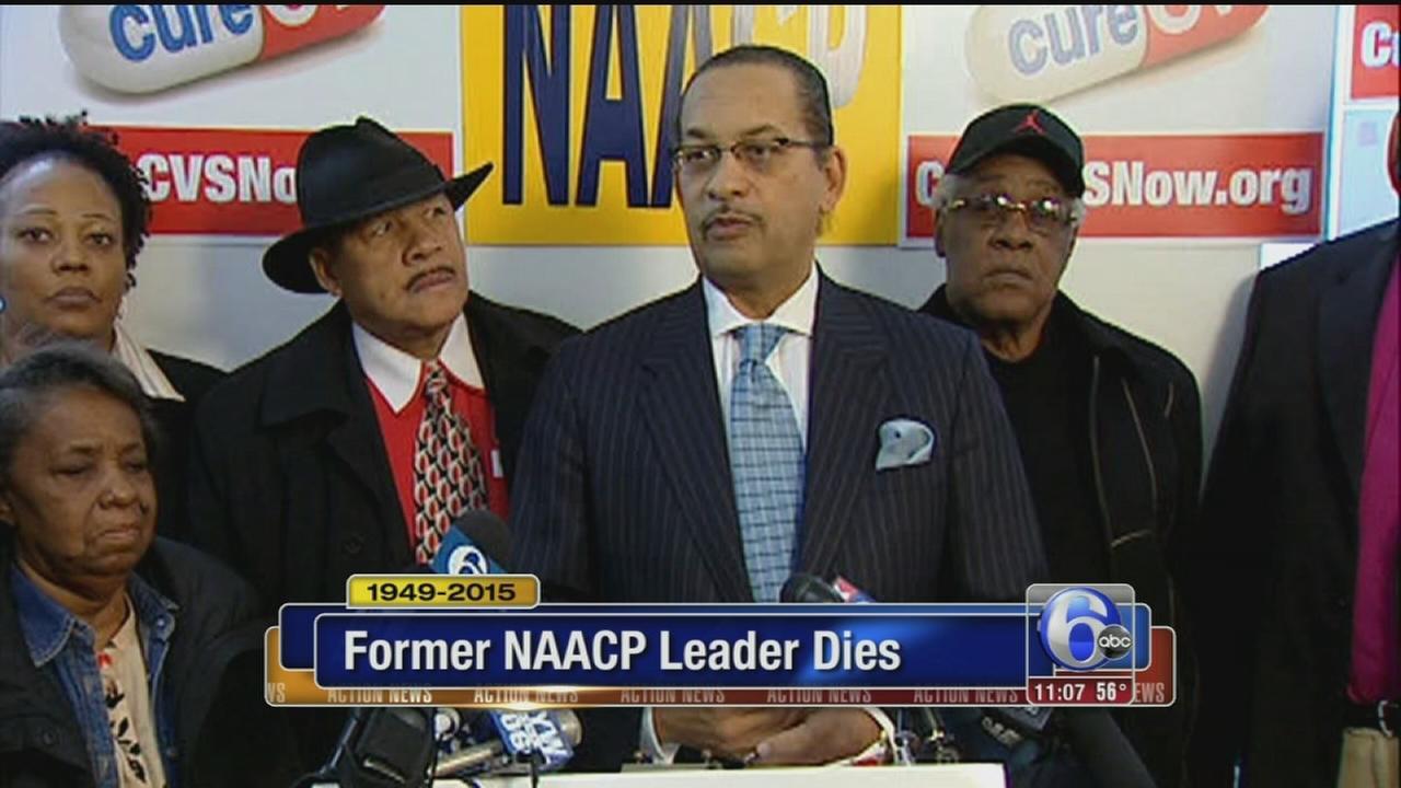 VIDEO: NAACP leader dies