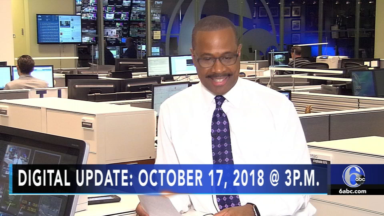 Rick Williams reports the latest headlines during the Action News Update at 3 p.m. on October 17, 2018.