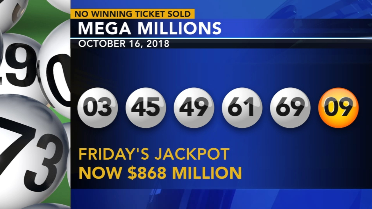 No winning Mega Millions ticket; jackpot climbs to $868M. Jeannette Reyes reports during Action News Mornings on October 17, 2018.