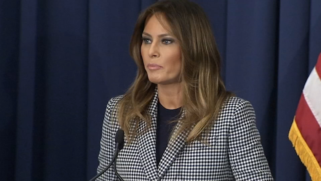 First Lady Melania Trump visits Philadelphia: Maggie Kent reports on Action News at