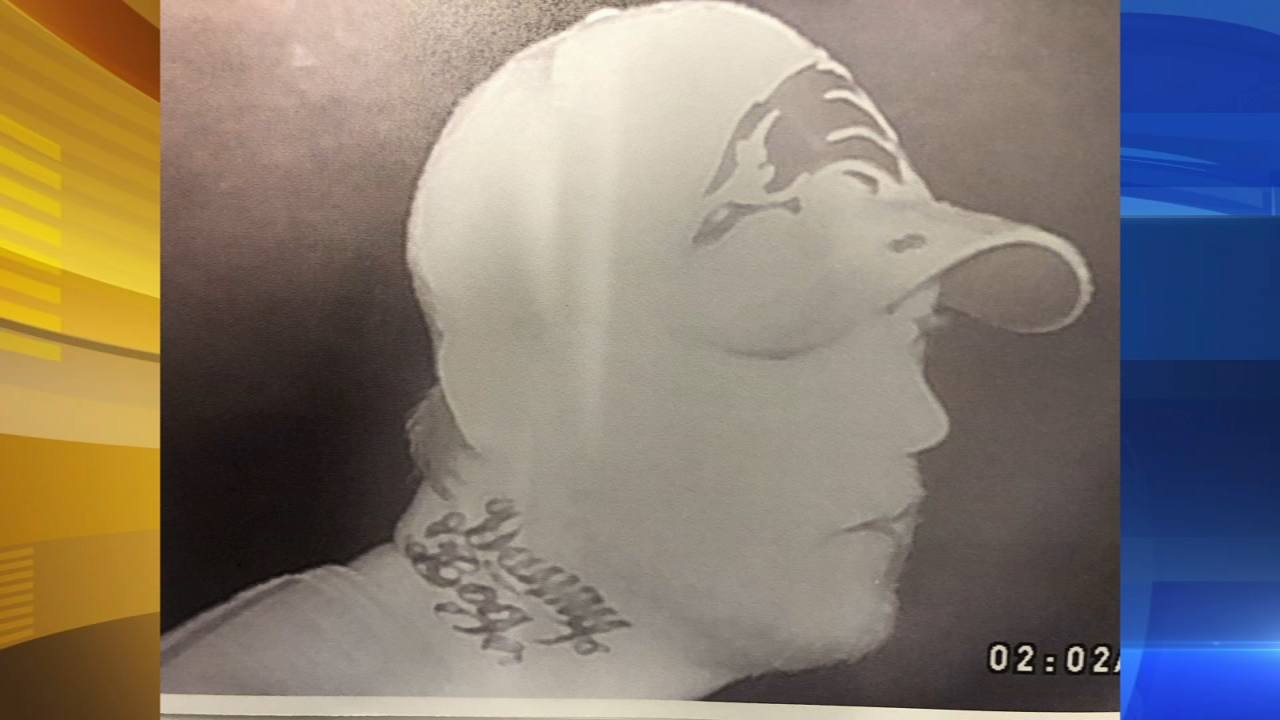 Danny Boy tattoed suspect wanted in Bucks Co. theft. Matt ODonnell reports during Action News Mornings on October 17, 2018.