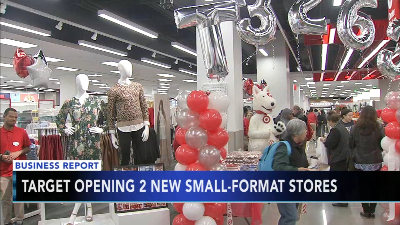 Target opening 2 new small-format stores in Philly area. Tamala Edwards reports during Action News Mornings on October 17, 2018.