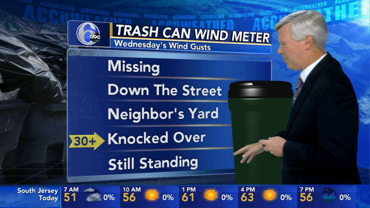 David Murphy with AccuWeather during Action News Mornings on October 17, 2018.