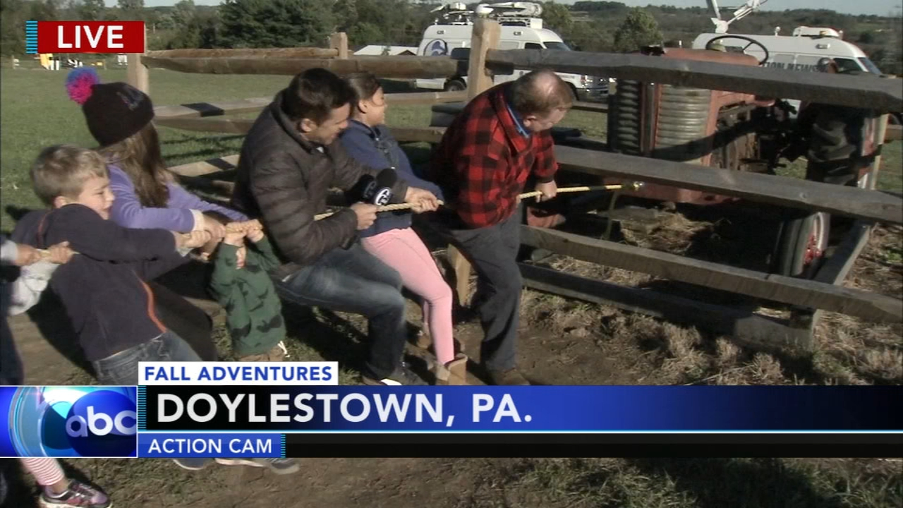 Adam Josephs Fall Adventure in Doylestown during Action News at 4:30 p.m. on October 18, 2018.