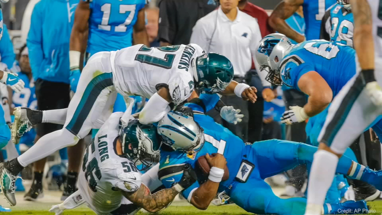 Veteran reporter Vernon Odom joins Ducis Rodgers to predict the outcome of the Eagles-Panthers game and other divisional matchups.