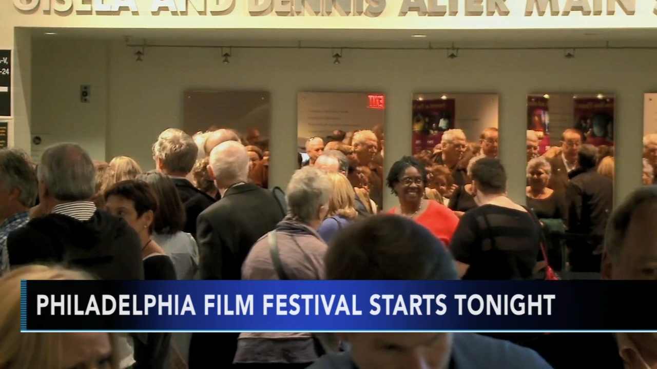 Philadelphia Film Festival opens Thursday with Ben is Back. Alicia Vitarelli reports during Action News at 4 p.m. on October 18, 2018.