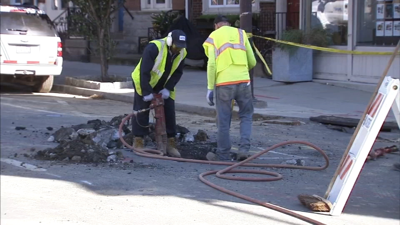Repairs continue on Fishtown water main: Sarah Bloomquist reports on Action News at 5 p.m., October 18, 2018