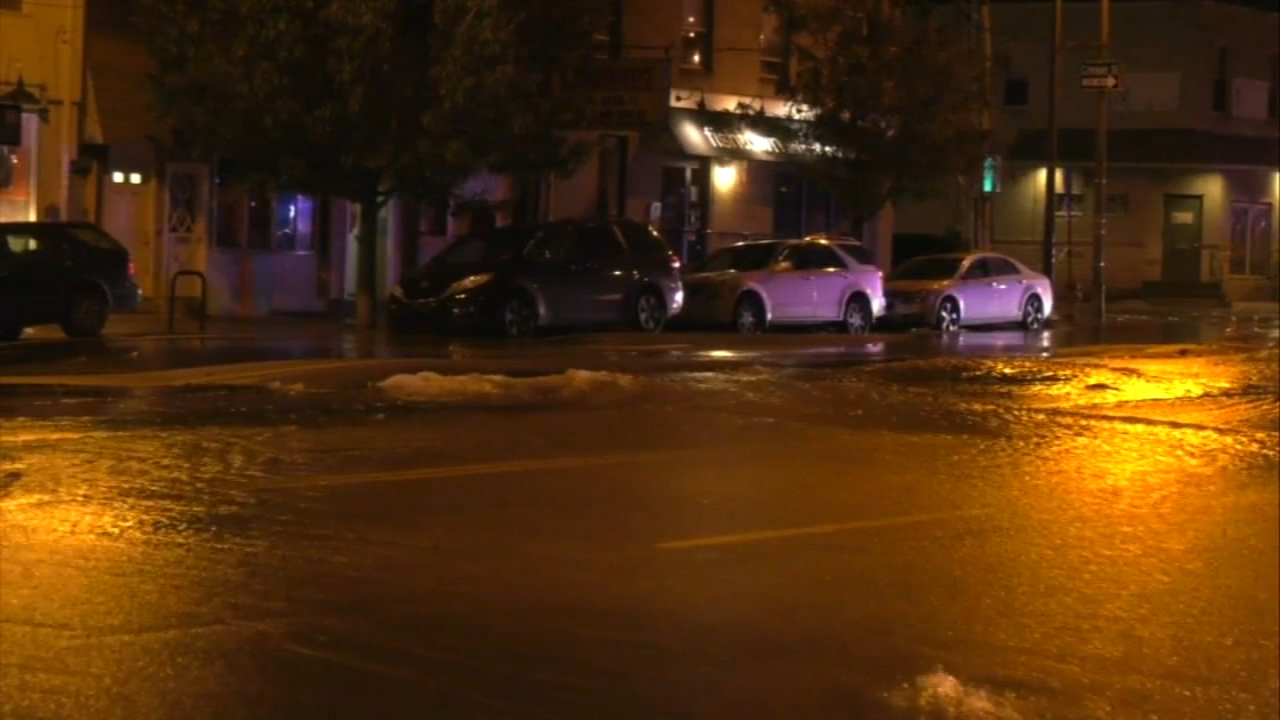 Flooding shuts down Girard Avenue in Fishtown. Jeannette Reyes reports during Action News Mornings on October 18, 2018.