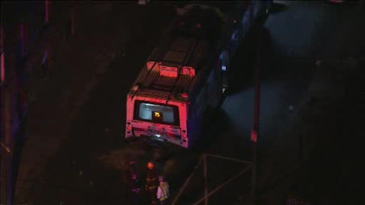 1 dead, 20 injured after SUV crashes into trolleybus in Philadelphia