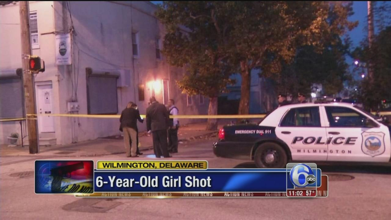 VIDEO: 6-year-old girl shot