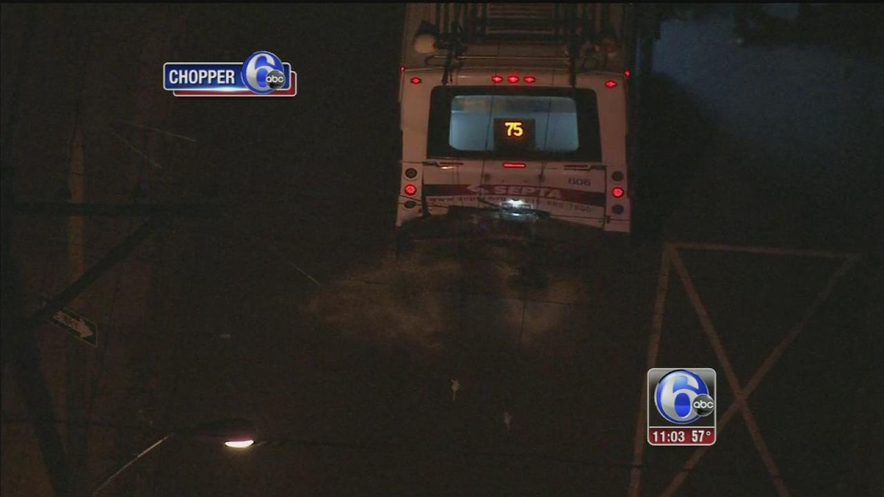 VIDEO: 1 dead, 20 injured after SUV crashes into SEPTA trolleybus