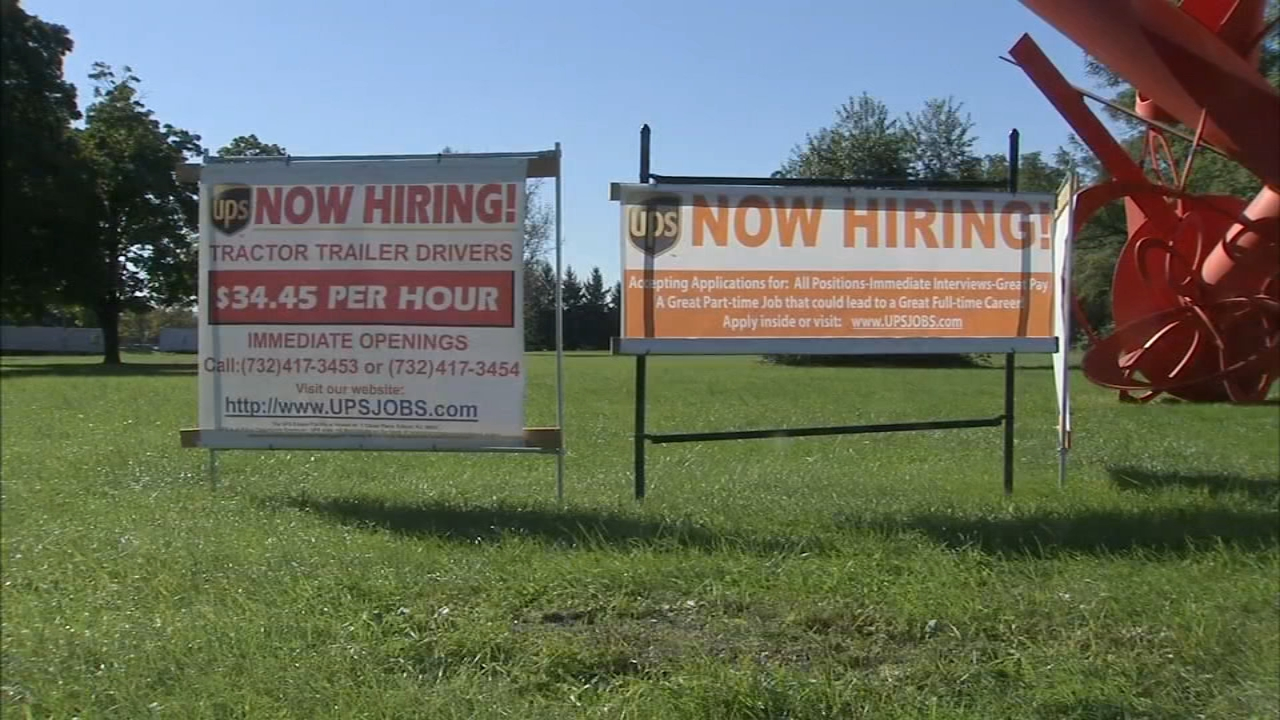 UPS holds seasonal job fair: as seen on Action News at Noon, October 19, 2018.