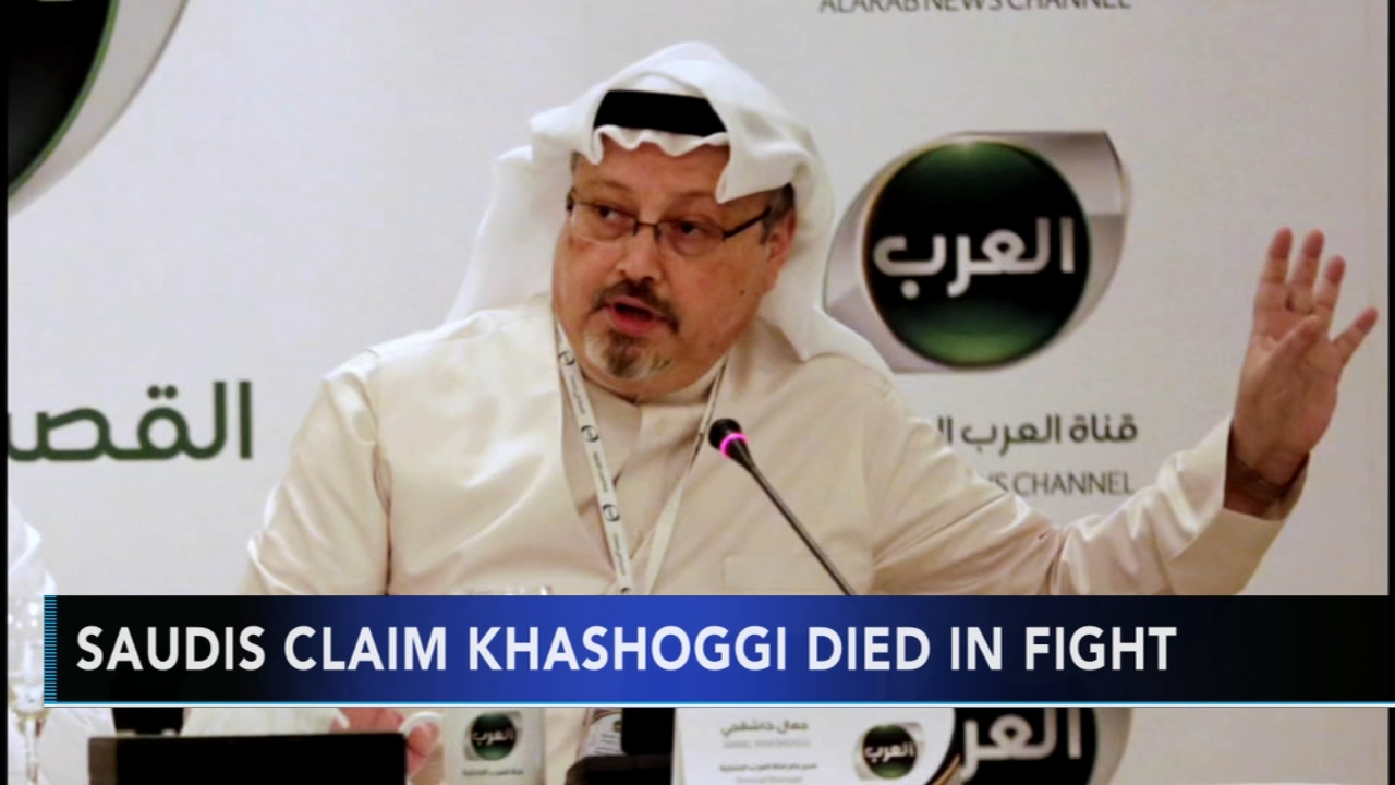 Saudis confirm Jamal Khashoggi was killed inside consulate. Jim Gardner reports during Action News at  11 p.m. on October 19, 2018.