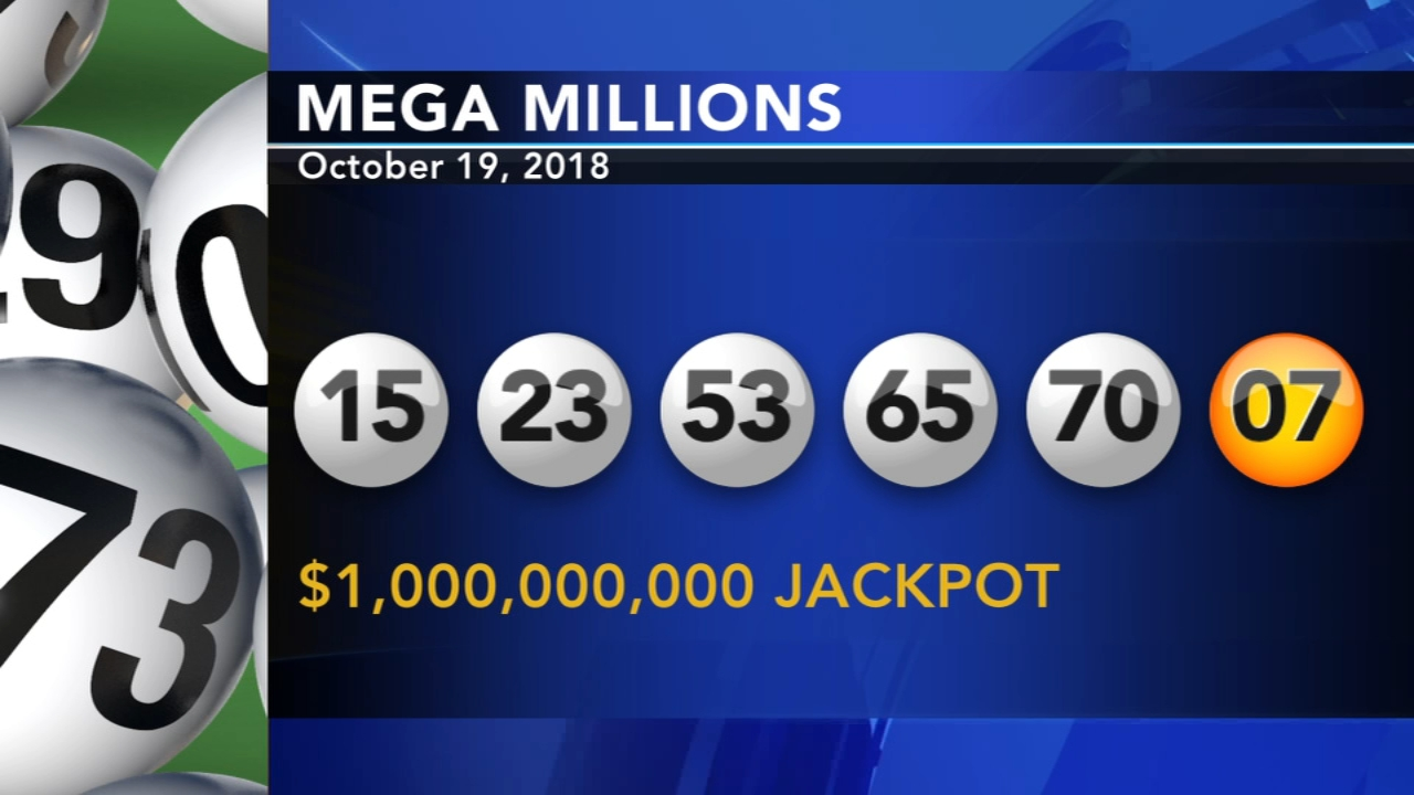 Mega Millions winning numbers: 15-23-53-65-70   07. Dann Cuelllar reports during Action News at 11 p.m. on October 19, 2018.