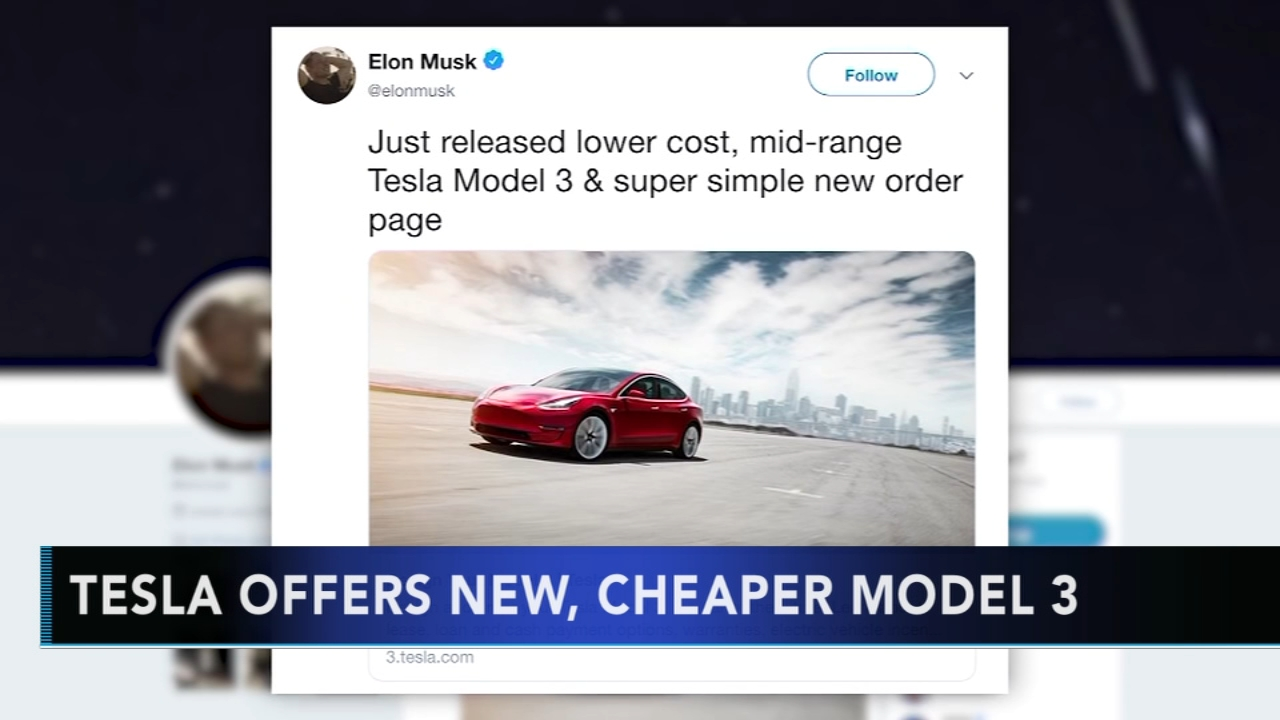 Tesla offering more afforable version of Model 3. Gray Hall reports during Action News at 6 a.m. on October 20, 2018.