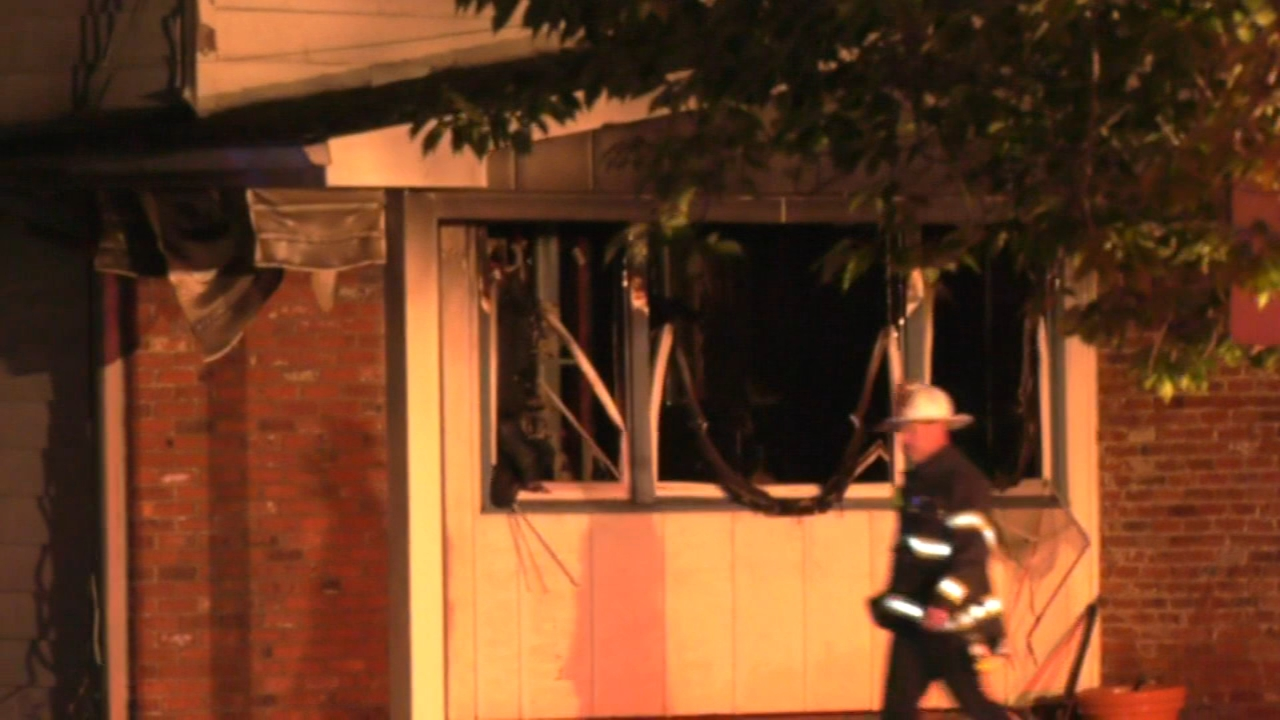 Cherry Hill home severely damaged from fire. Gray Hall reports during Action News at 6 a.m. on October 20, 2018.