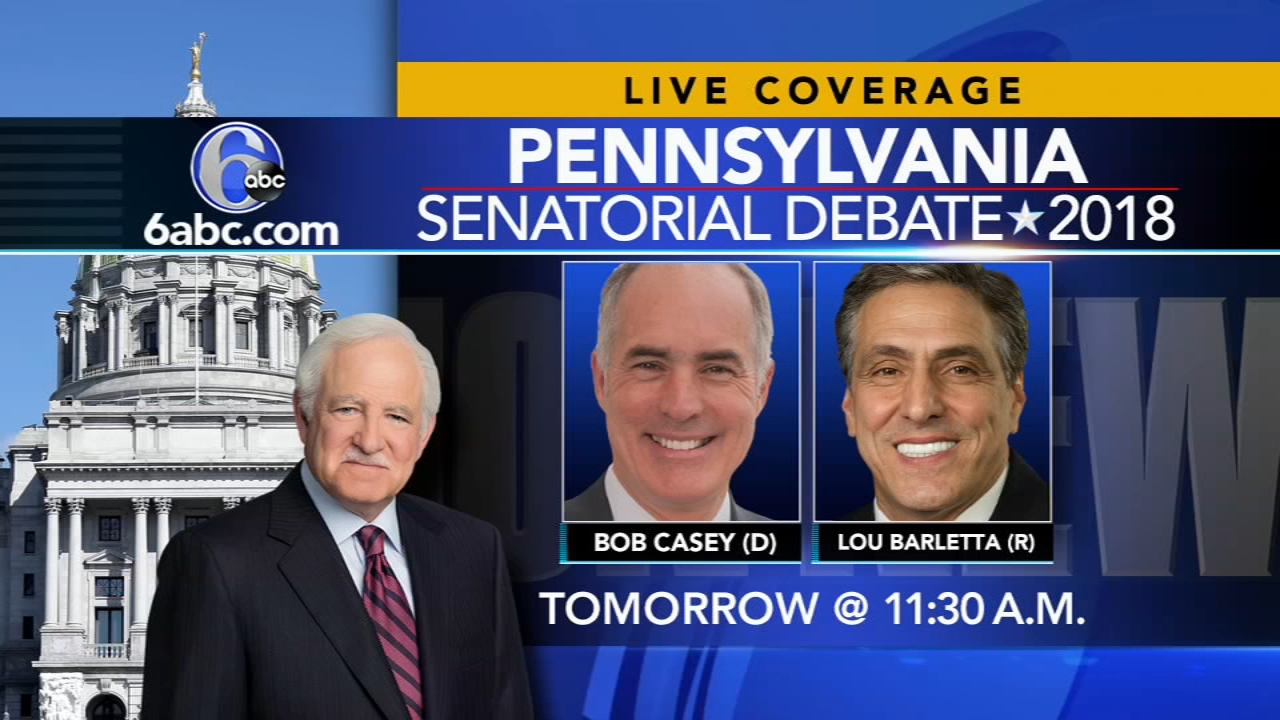 Pa. senate candidates speak from the Green and Libertarian parties. Walter Perez reports during Action News at 11 p.m. on October 20, 2018.