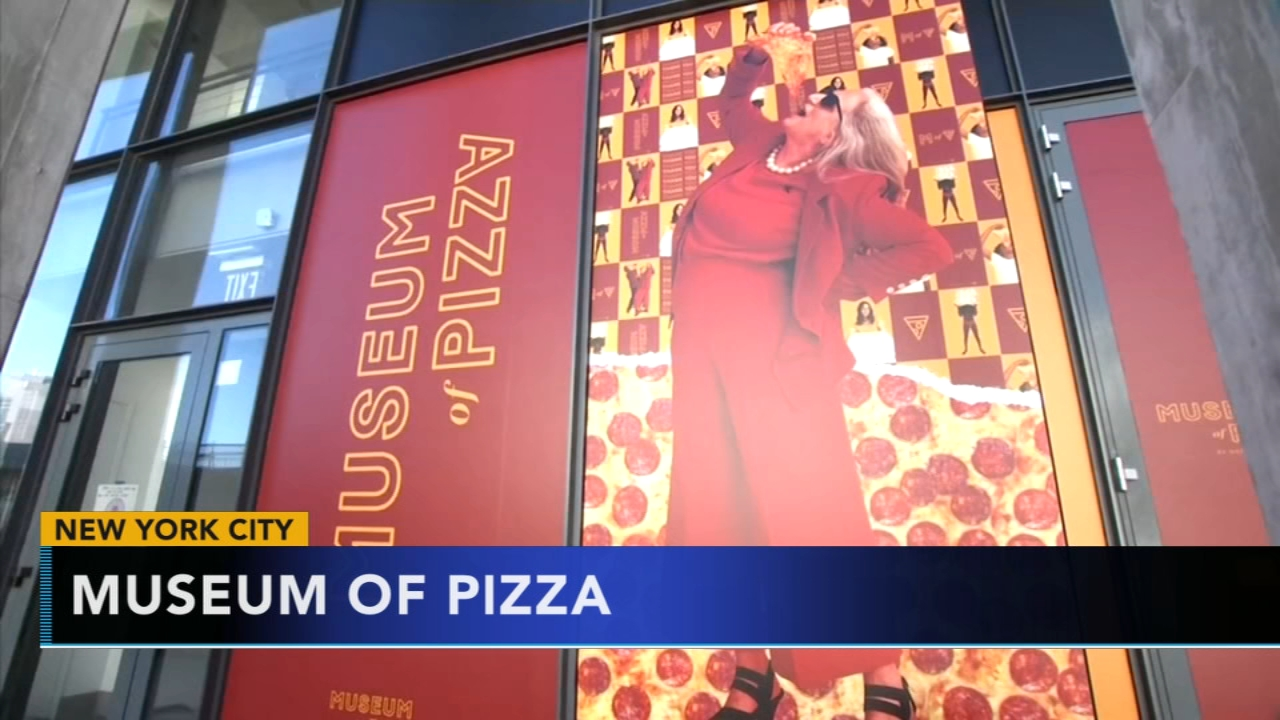 Pop up pizza museum opens in New York City. Gray Hall reports during Action News at 7 a.m. on October 20, 2018.