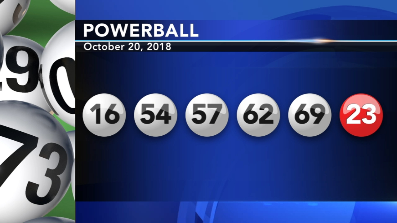 Winning numbers drawn in Powerball game. Walter Perez reports during Action News at 11 p.m. on October 20, 2018.