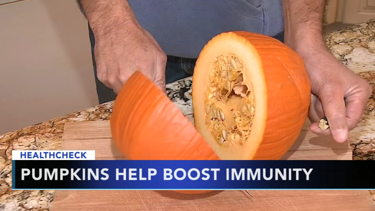 Eating pumpkin may help boost immunity. Gray Hall reports during Action News at 7 a.m. on October 20, 2018.