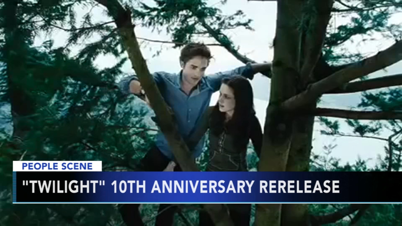 Twilight to be re-released to celebrate 10th anniversary. Gray Hall reports during Action News at 6 a.m. on October 20, 2018.