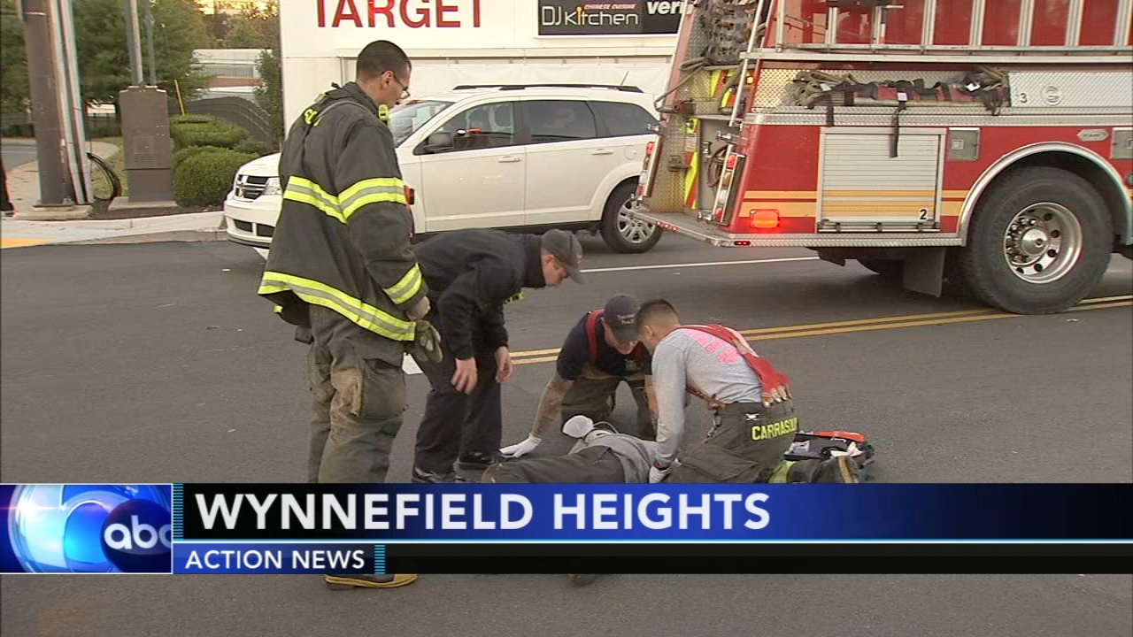 Pedestrian struck by vehicle near Targets in Wynnefield Heights. Sarah Bloomquist reports during Action News at 10 p.m. on October 21, 2018.