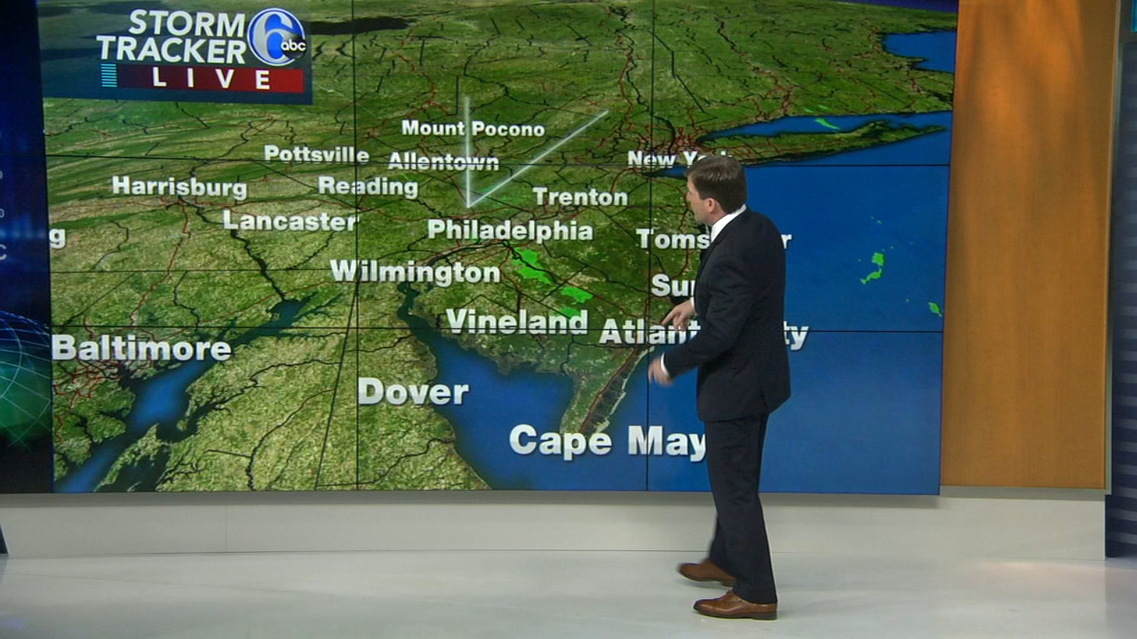 Chris Sowers with Accuweather on Action News at 9 a.m., October 21, 2018