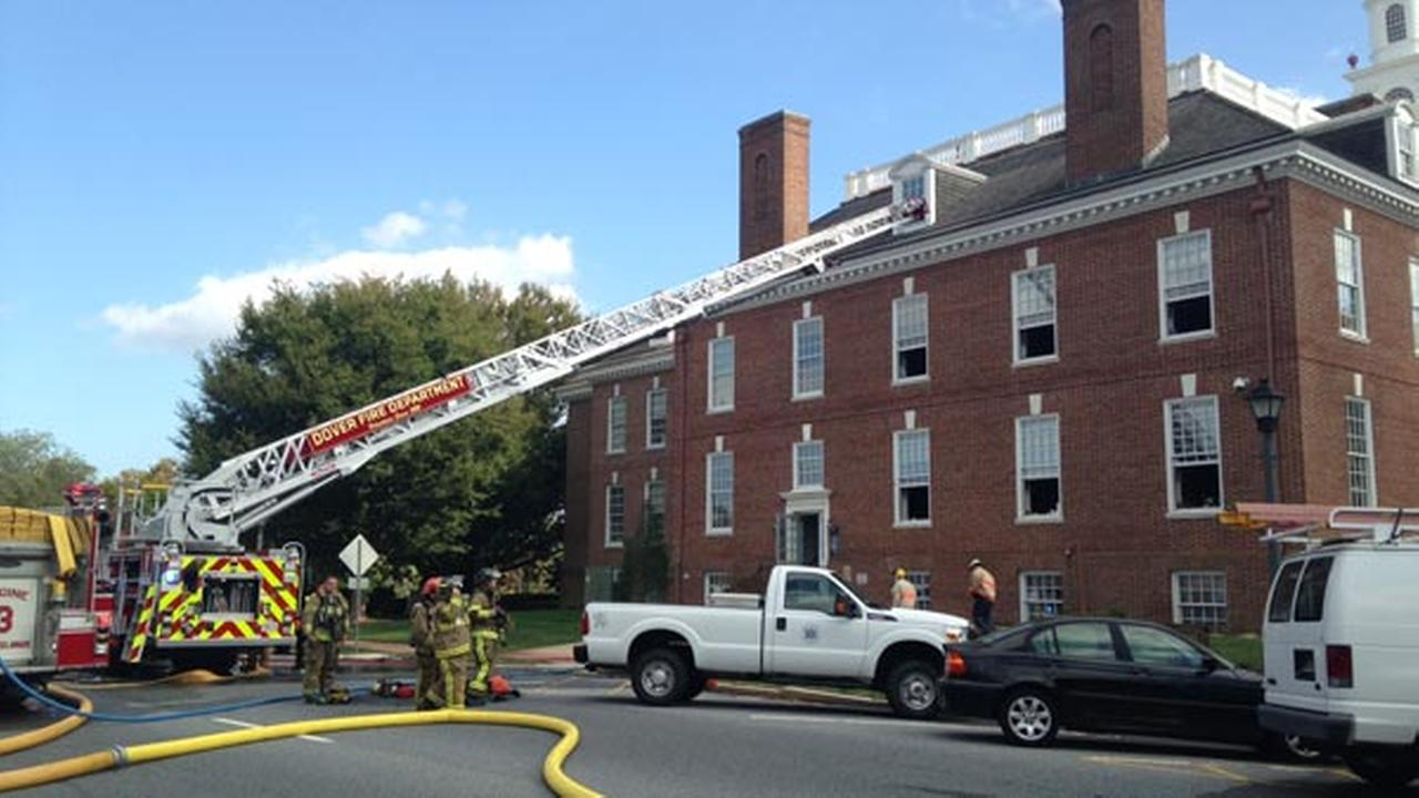 2-alarm fire in Delaware Legislative Hall in Dover ruled accident