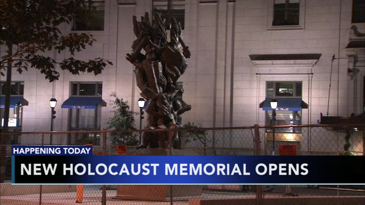New Holocaust Memorial opens in Philadelphia. Tamala Edwards reports during Action News Mornings on October 22, 2018.