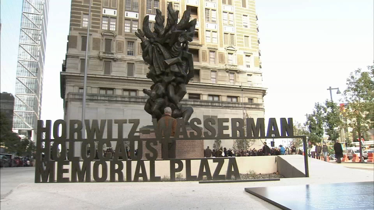 Holocaust memorial expansion unveiled Monday: as seen on Action News at 6 p.m., October 22, 2018
