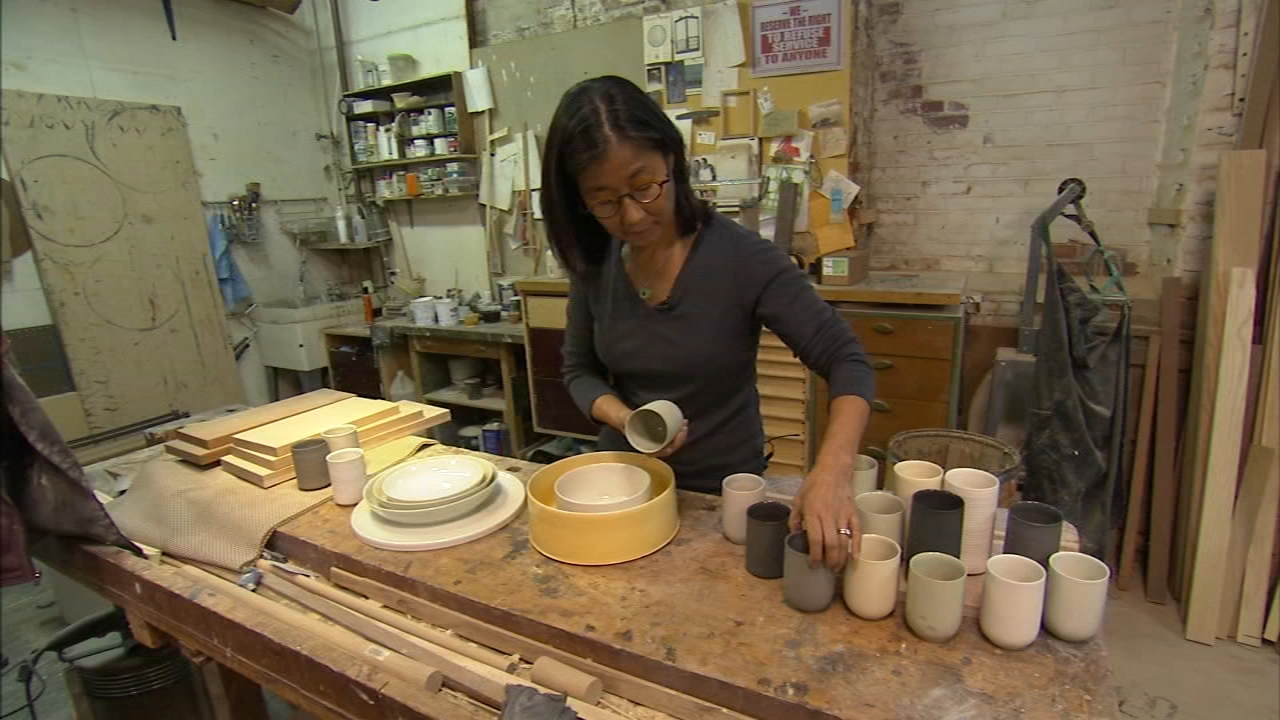 6abc Loves the Arts: The 42nd Annual Philadelphia Museum of Art Contemporary Craft Show. Karen Rogers reports during Action News at 7 a.m. on October 21, 2018.