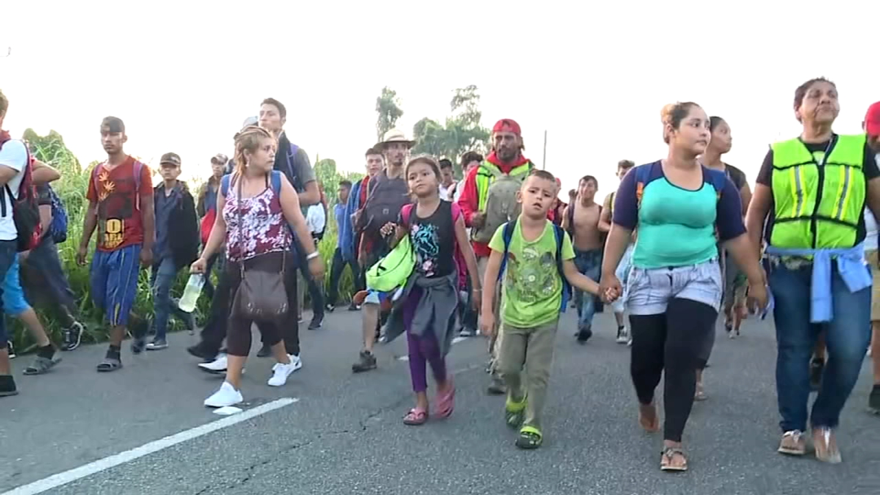 Growing caravan of migrants pushes deeper into Mexico. Watch this ABC News report from Action News at Noon on October 22, 2018.