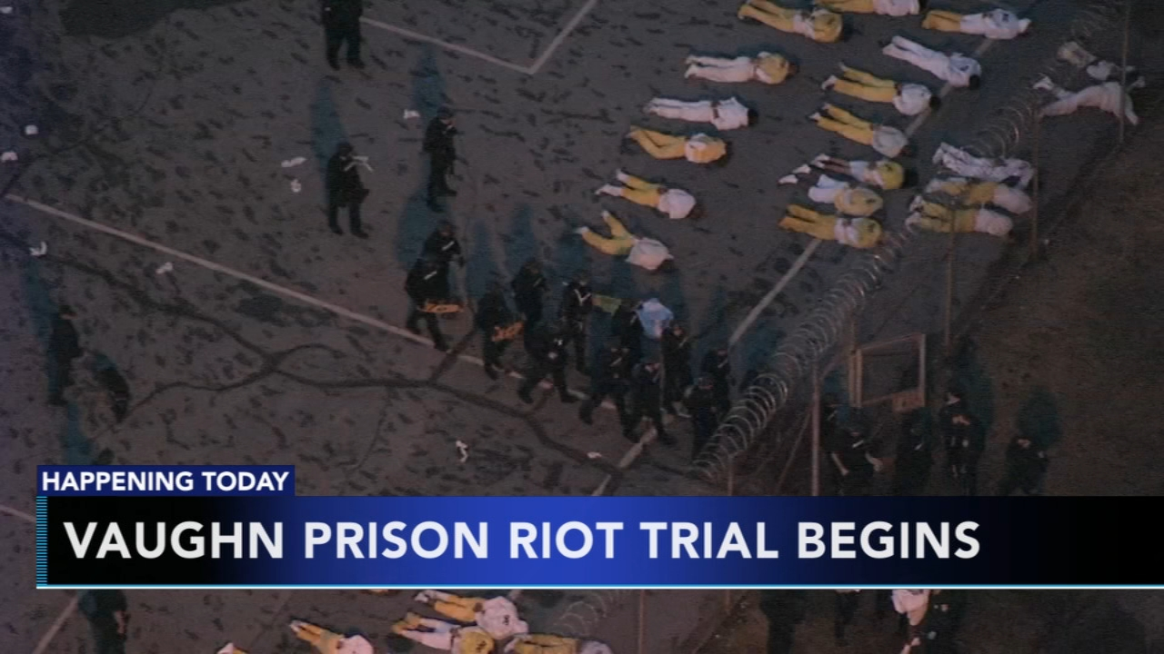 Vaughn Prison riot trial begins. Matt ODonnell reports during Action News Mornings on October 22, 2018.