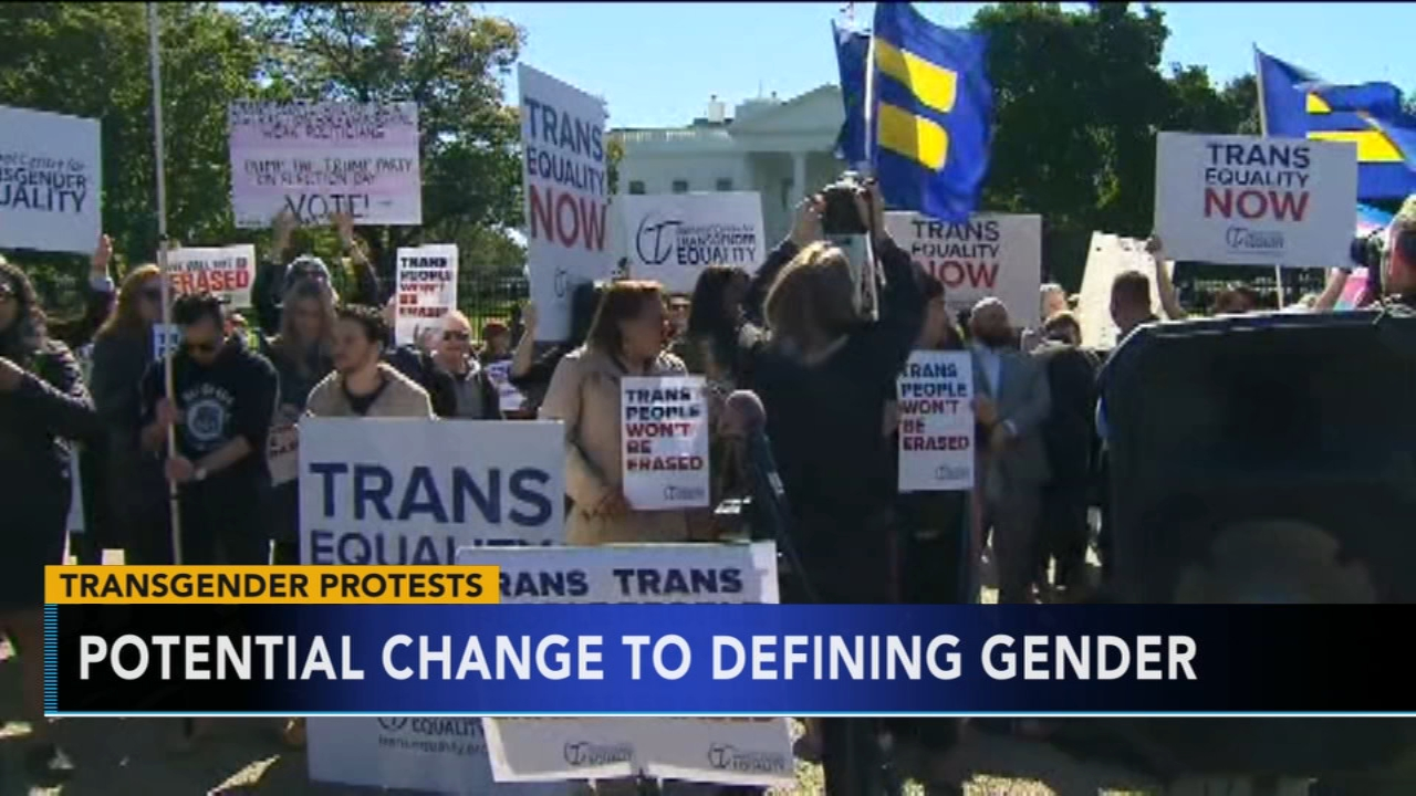 Potential change to defining gender: As seen on Action News at 11 p.m., October 22, 2018
