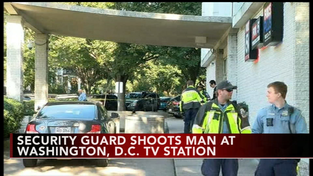 Man shot outside TV station in Washington, DC. Watch this report from Action News at 4:30pm on October 22, 2018.