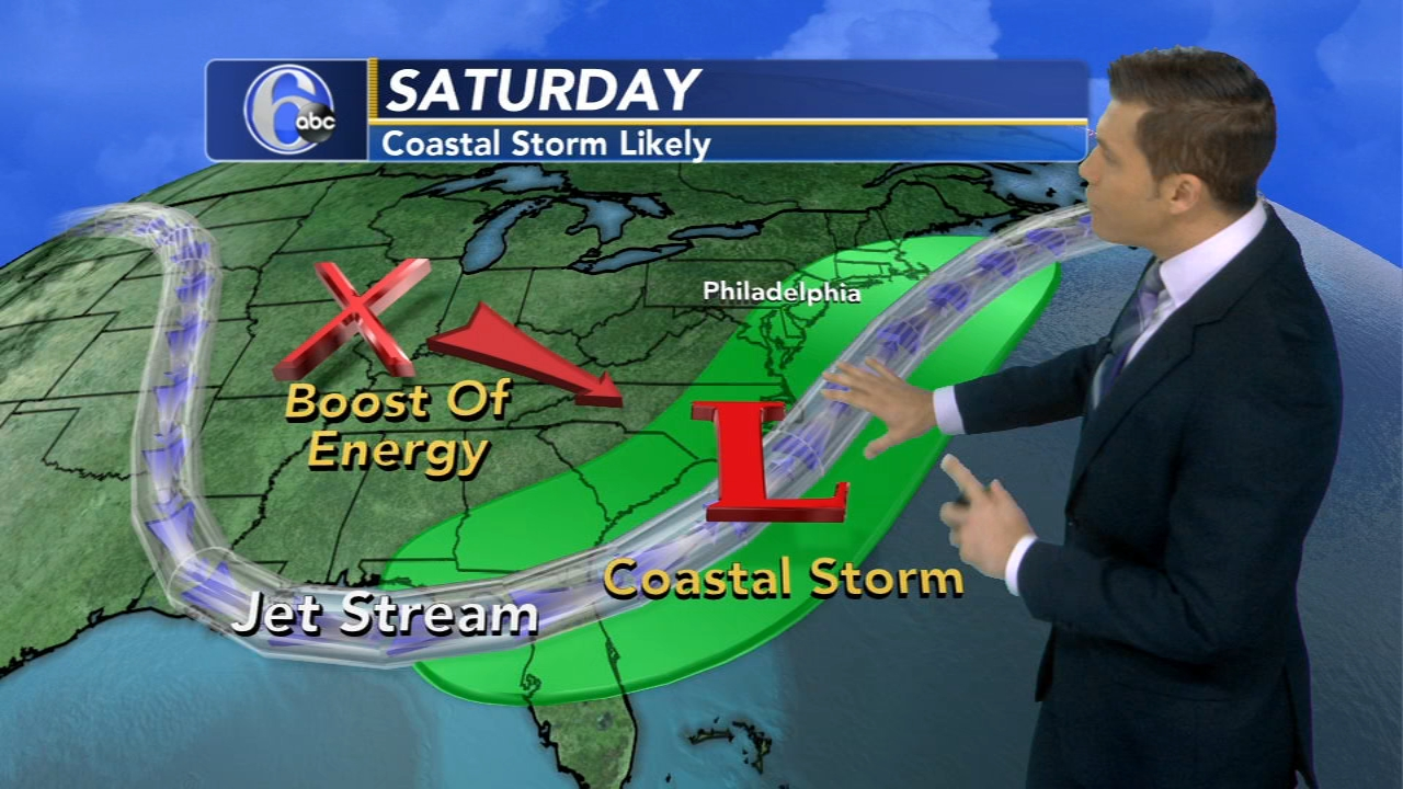 Coastal storm could bring windy, wet weekend to Philadelphia region, south New Jersey. Adam Joseph has the latest during Action News at Noon on October 23, 2018.