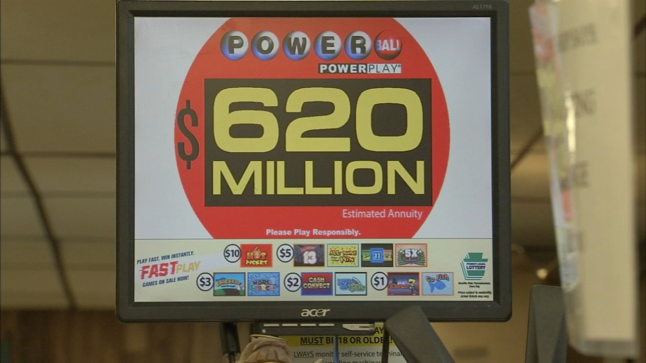 Mega Millions fever grips Delaware Valley. Katherine Scott reports during Action News at Noon on October 23, 2018.