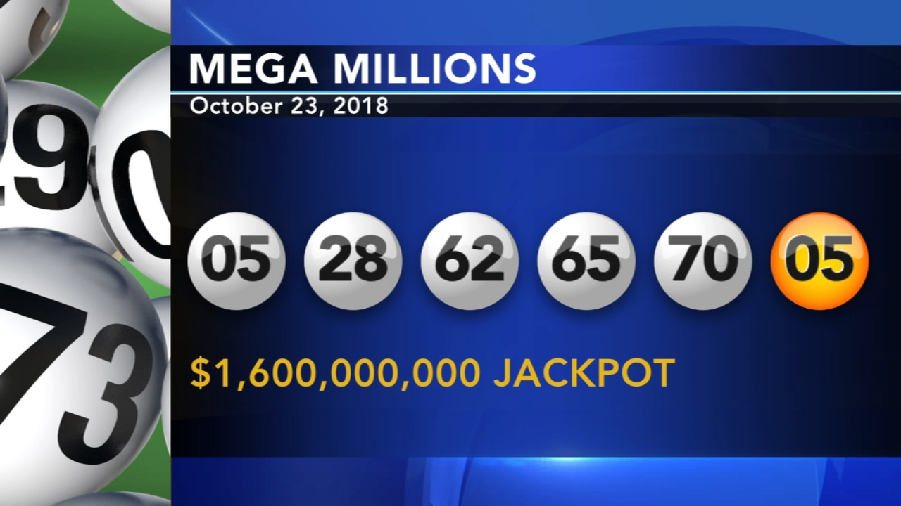 The winning numbers have been drawn for the record $1.6 billion Mega Millions lottery jackpot as reported during Action News at 11 on October 23, 2018.
