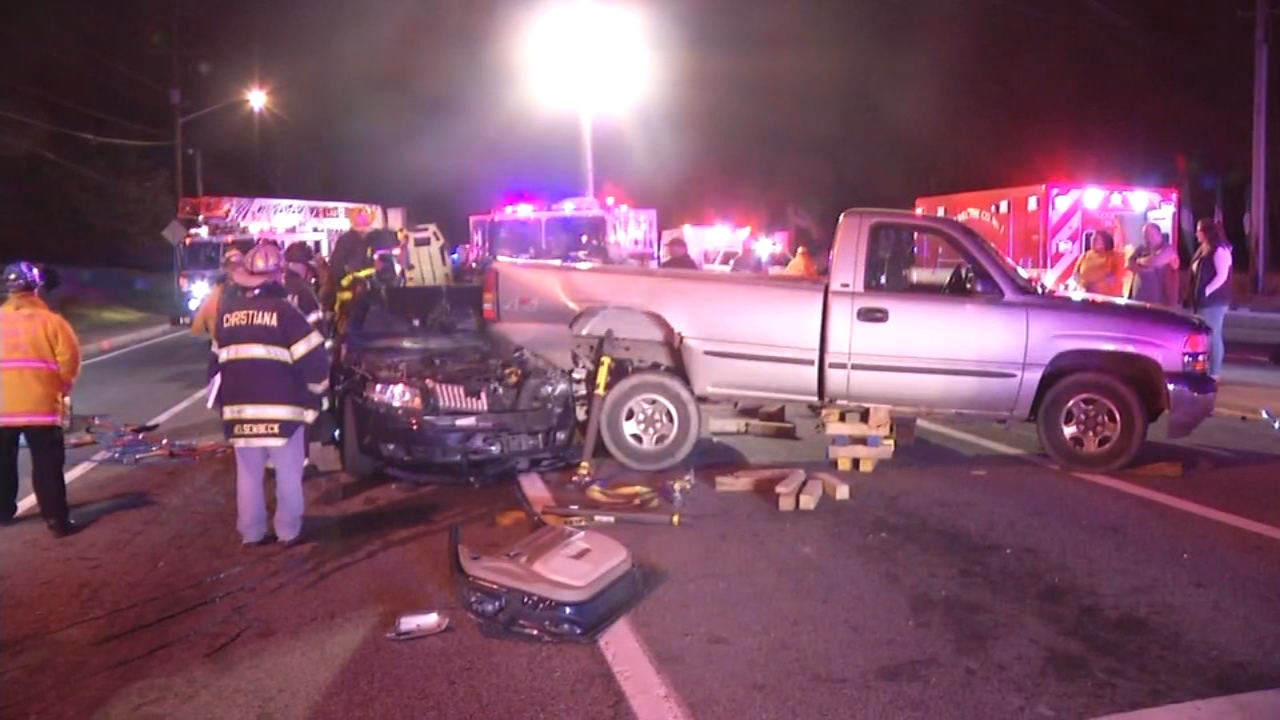 4 injured in multi-vehicle crash in Christiana. Matt ODonnell reports during Action News Mornings on October 24, 2018.
