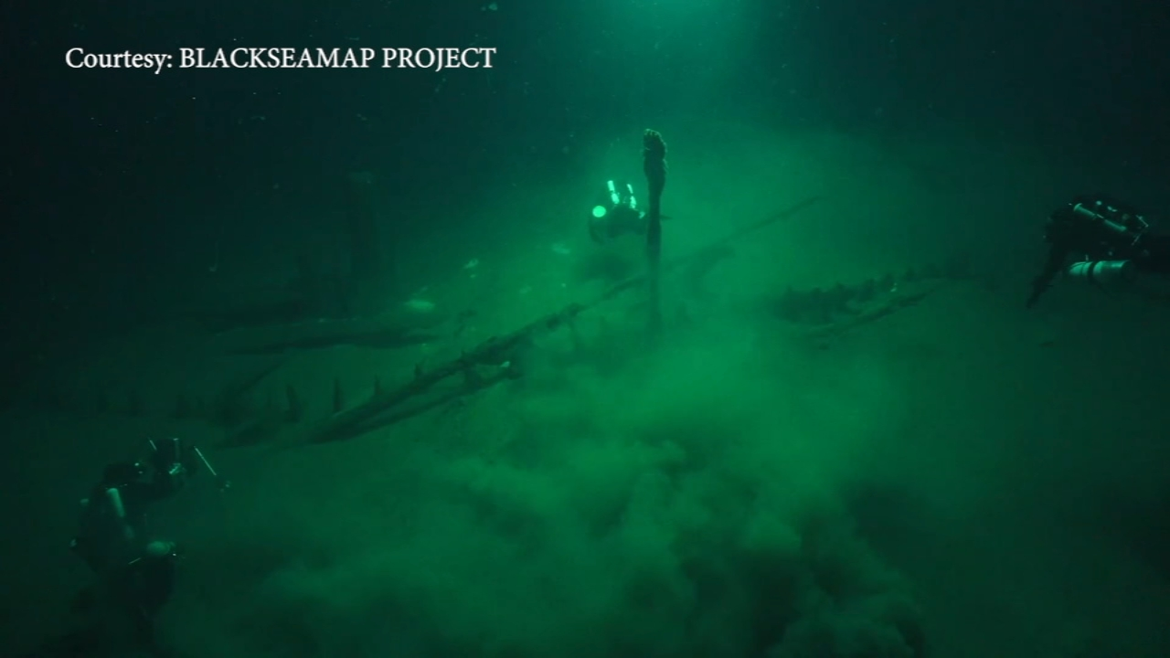 Oldest intact shipwreck discovered. Matt ODonnell reports during Action News Mornings on October 24, 2018.