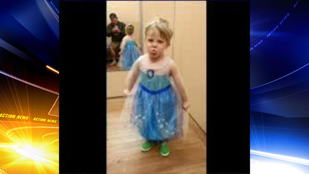 dad lets son wear elsa costume for halloween | 6abc