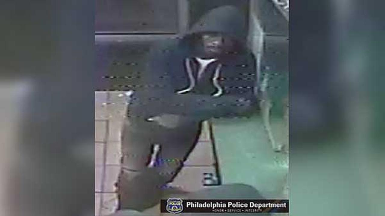 Philadelphia police are searching for a suspect who robbed several customers inside a takeout restaurant in the citys Tioga section.