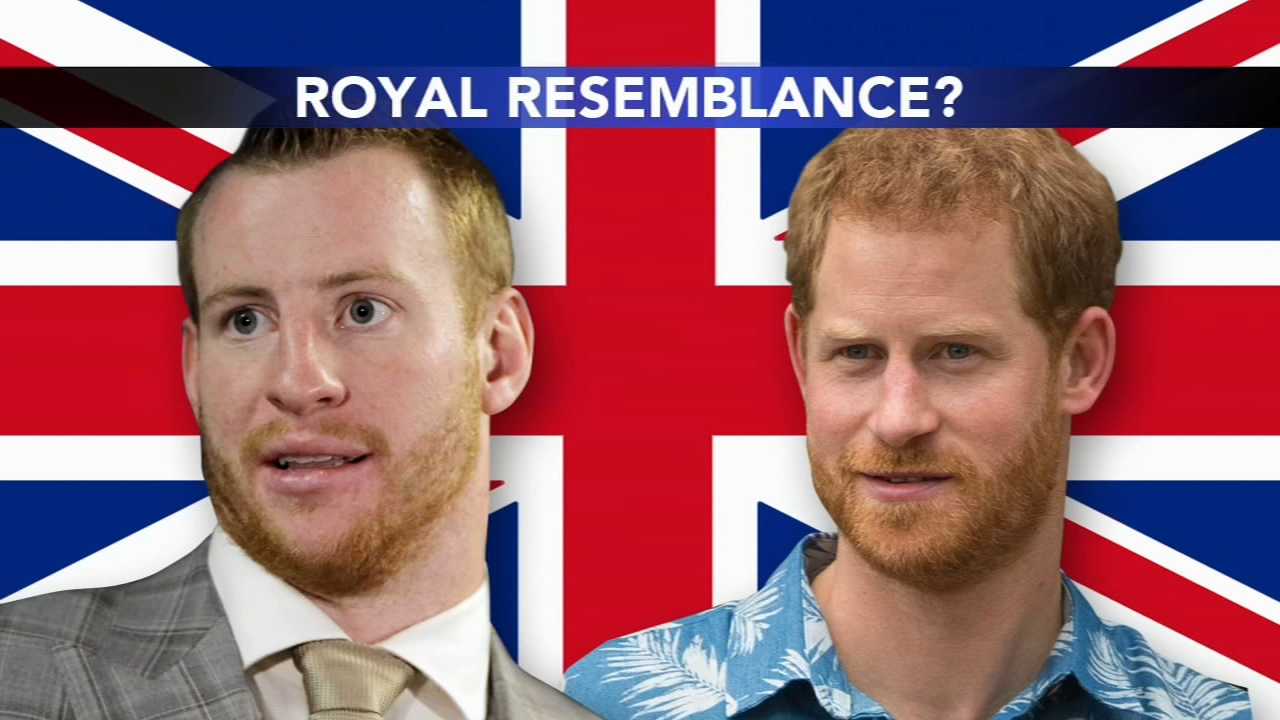 Is it Carson Wentz or Prince Harry? Ducis Rodgers reports from London, England on Action News at 6 p.m., October 25, 2018
