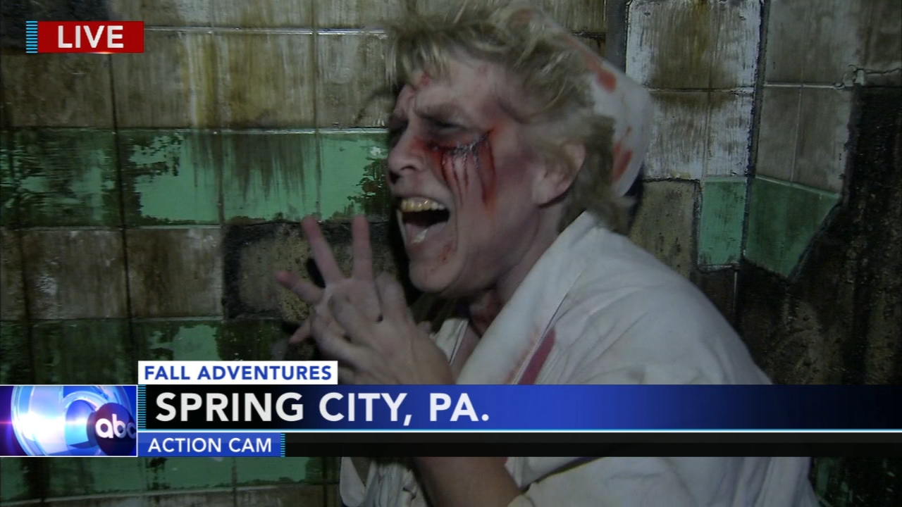 Adam Joseph took his Fall Adventures to the Pennhurst Asylum in Spring City, Pa.during Action News at 5 p.m. on October 25, 2018.