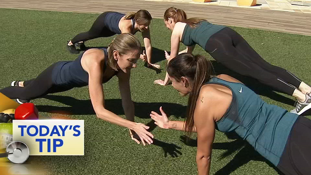 Shoshana has a fun plank challenge for you and your friends!