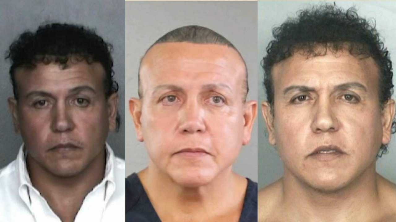 Suspect Cesar Sayoc detained in Florida in connection with possible explosive devices as reported by Dann Cuellar during Action News at 11 on October 26, 2018.